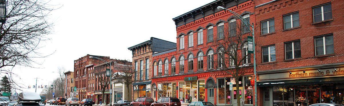 Downtown Market Street, Postsdam, NY
