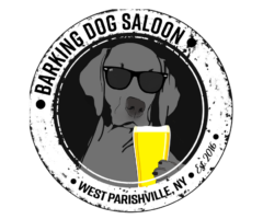 Logo for the Barking Dog Saloon